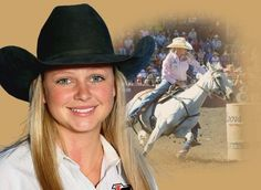 WPRA Barrel Racer-Kaley Bass won the 2014 Calgary Stampede on Wonders Cowboy Dan. Congrats to our Florida girl!
