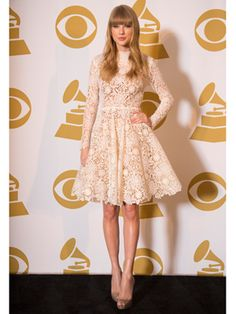 Taylor Swift at the Grammy Nominations concert!