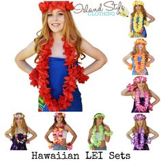 Pretty 4 piece Lei S