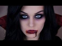 Sexy Vampire   Halloween Makeup - YouTube