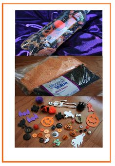Halloween discovery bottle