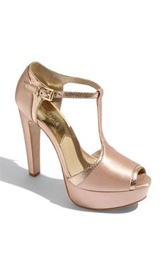 Michael Kors T-strap pump from Nordstrom