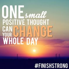 Choose a positive thought.  http://go.mu.edu/1mT1rhL