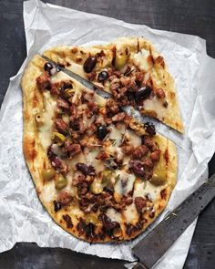 Sausage and Olives Pizza Recipe