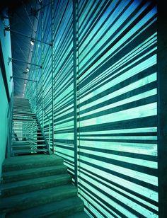 Palatino turin ITALY 1998 by Fuksas #architecture #light #stair