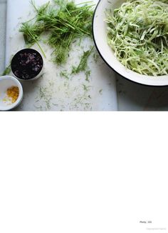 This kohlrabi and cabbage salad from Yotam Ottolenghi's cookbook Plenty is simple, fresh, and out of this world!