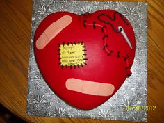 Open Heart Surgery Cardiac Funny Cake