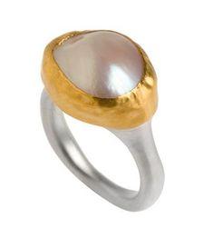 Nava Zahavi pearl ring