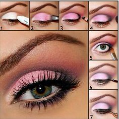 How to make color pop on your eyelid☆