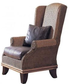 Tropical Wingback Chair