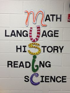 Music is Everything! - Bulletin Board idea.