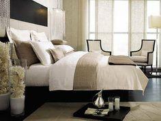 neutral bedroom, bedroom linens, dream, main bedroom, luxury bedrooms, master bedrooms, design, kelli hoppen, bedroom chic