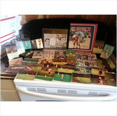 Wow him with this Vintage/Antique Misc lot of Football Cards; Reds, Photos. Postcards, Advertisement, etc. on eBid United States
