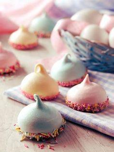 confetti meringues
