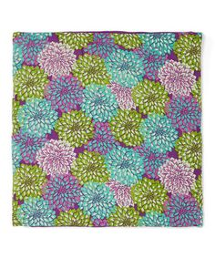 Take a look at this Dahlia Accent Pillow by Dennis East International on #zulily today!