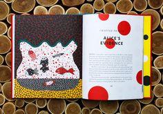 Yayoi Kusama illustrates Lewis Carroll's Alice's Adventures in Wonderland