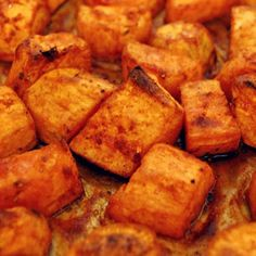 Roasted Sweet Potatoes With Honey
