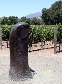 Definitely a winery to visit if making a trip to Calistoga, CA. The wine is interesting and the Art is FABULOUS!