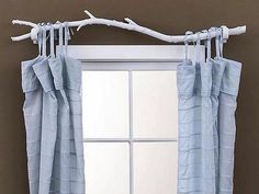 "It's free, it's natural and in my opinion, very attractive.My only concern is that you would need a ""neater"" branch, if you actually wanted to close the curtains. on The Owner-Builder Network  http://theownerbuildernetwork.com.au/wp-content/blogs.dir/1/files/decorating-ideas-1/c68dfdb04ce3633f8d718094c8aa0080.jpg"