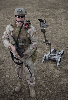 PackBot is a series of military robots by iRobot. More than 2000 are currently on station in Iraq and Afghanistan, with hundreds more on the way.  PackBots were the first robots to enter the damaged Fukushima nuclear plant after the 2011 Tōhoku earthquake and tsunami.