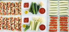 Classic Zucchini Pizza Boats Recipe