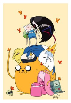 adventure time by ary