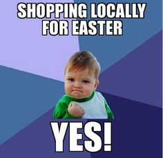 Shop local for Easter!