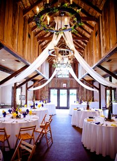 Think this set up of the carriage house is very pretty!
