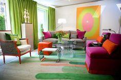 Triadic Color: orange, green, purple
