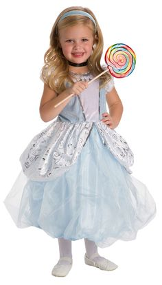 Little Adventures 5 Star Cinderella Princess Dress  - a stunning costume featuring a blue and white velvet bodice adorned with beautiful silver trims and a voluminous layered organza skirt. So soft - no itchy seams and machine washable! #princess #dressup #Disneyland