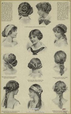 Hairstyles 1912