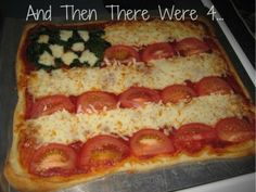 Pizza Flag by @thenwere4 #veggieworld    http://andthenthereweremore.com/2012/05/yes-my-toddlers-eat-veggies-and-yours-can-too-a-very-veggie-world-veggieworld/