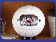 Personalized Volleyball - Custom Photo Gift Idea     $24.95     #coachgift    #volleyball    #giftideas