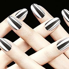 Formula X For Sephora - The Foil Look in Glacier - striking metallic silver #sephora