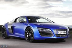 Audi R8 V10 Plus (the fastest so far with 404kw and 0-100kmh in 3.5sec!)