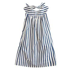 Girls' #striped #sateen #dress #baby #stylish #finds @jcrew.com