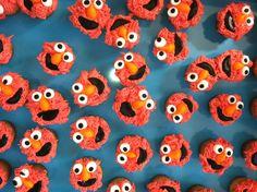 Elmo Cupcakes food fav, cupcak idea, cupcakes, elmo cupcak, kid corner, cake ice, birthday idea, kiddo, amaz food