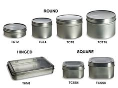 This is a website with every kind of container you could want and they are very inexpensive #organize