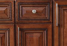 Cabinets To Go | Kitchen Cabinets - Buckingham Sienna Rope