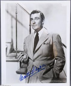 Walter Pidgeon ~ One of the most manly and handsome of the 40s actors