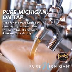 Help Pure Michigan and Founders Brewing Co. Choose a Pure Michigan Beer Style