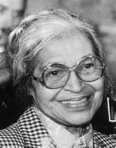 Rosa Parks.... courage