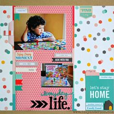 Layout: Another Day, Another Round of Candy Land
