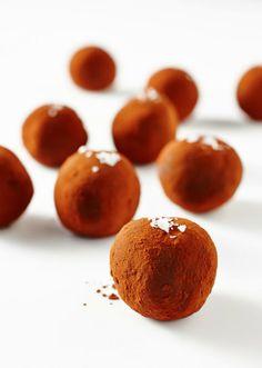 Raw Chocolate Salted Truffles | Lush Loves