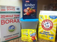 Home Made Dishwasher Detergent « The Self Sufficient Housewife