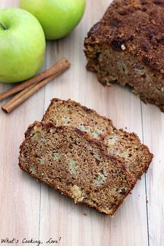 Caramel Apple Cinnamon Bread #WerthersCaramel #Caramel