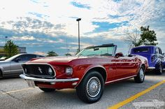 1969 Ford Mustang Convertible by Chad Horwedel, via Flickr