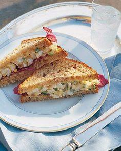 Egg Salad Recipes // Alexis's Light Egg Salad Sandwich Recipe