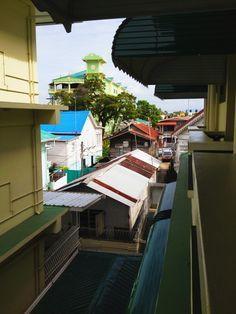 Rooftops in Guyana