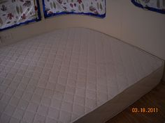 Another example of an RV Mattress made by Rocky Mountain Mattress.